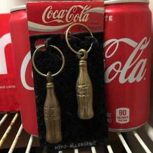 Vintage 1993 Coca-Cola Earrings
